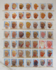 49 Popes, 2014, oil on board, each 32x24cm, total  206x210cm